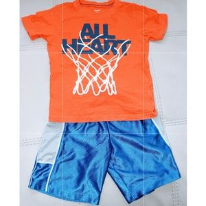 Carter's 3T all heart shirt (3T shorts included)